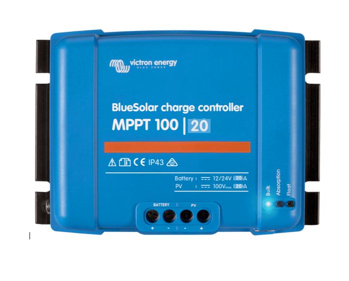 régulateur de charge BleuSolar MPPT 100/20A