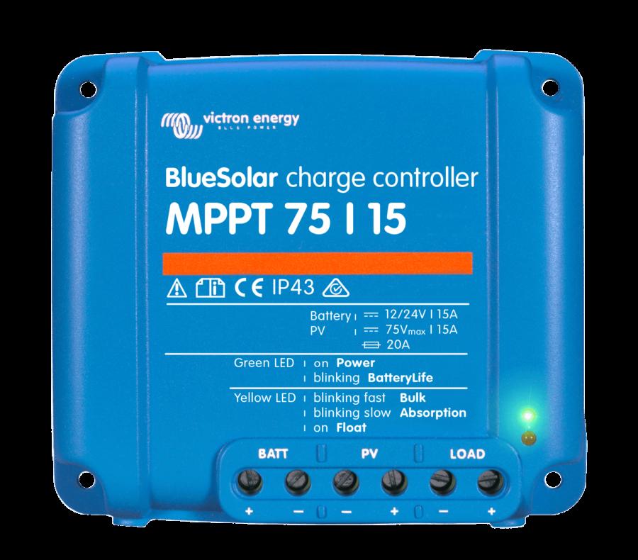 régulateur MPPT 75/15A