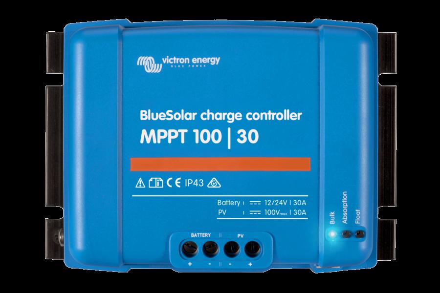 regulateur de charge BleuSolare 100/30A victron energy