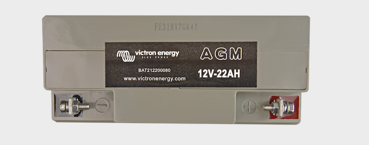 batterie solaire 22Ah/12V-Victron Energy