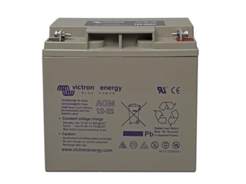 batterie solaire AGM 22Ah-12V -Victron Energy
