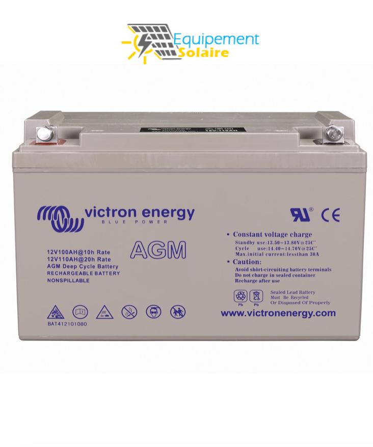 batterie solaire agm 66ah vitron energy