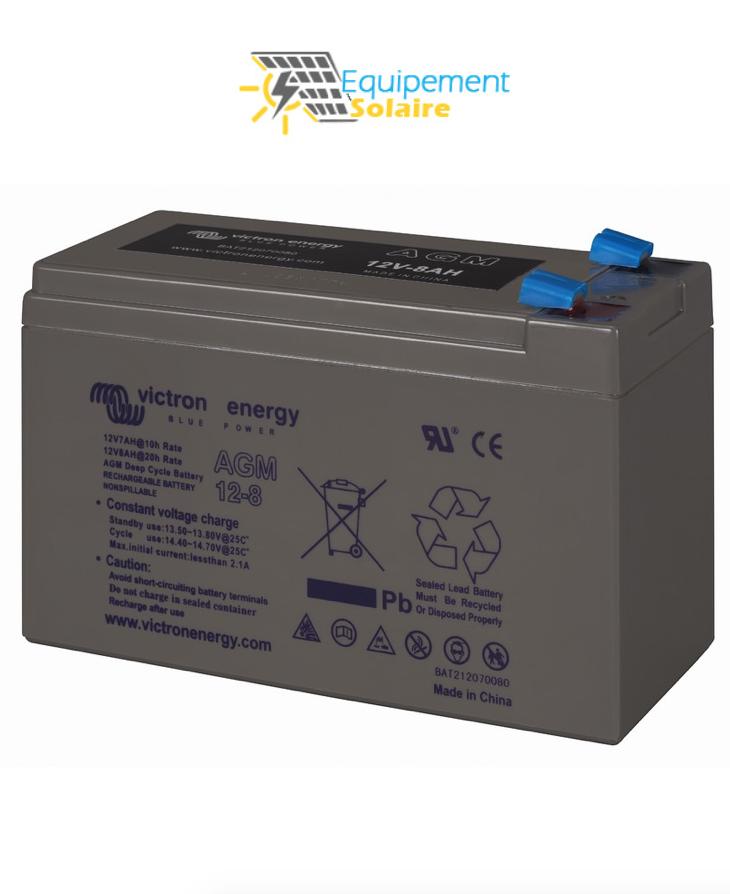 batterie solaire 8Ah AGM-12V
