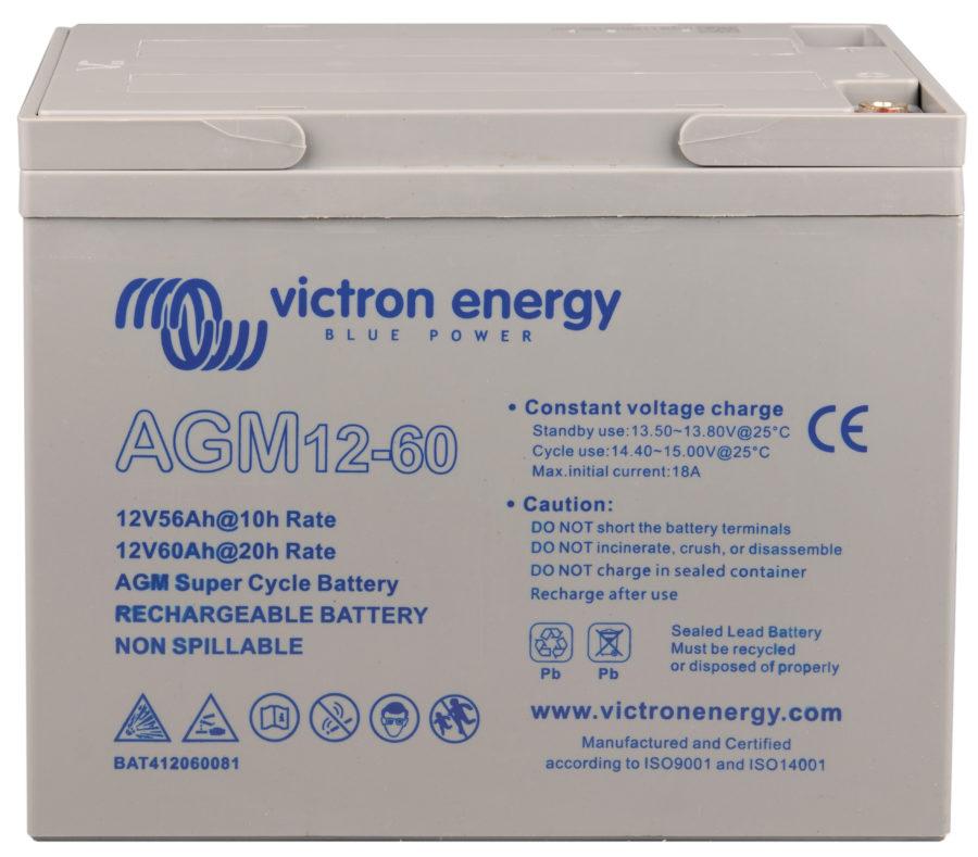 batterie agm 60ah super cycle