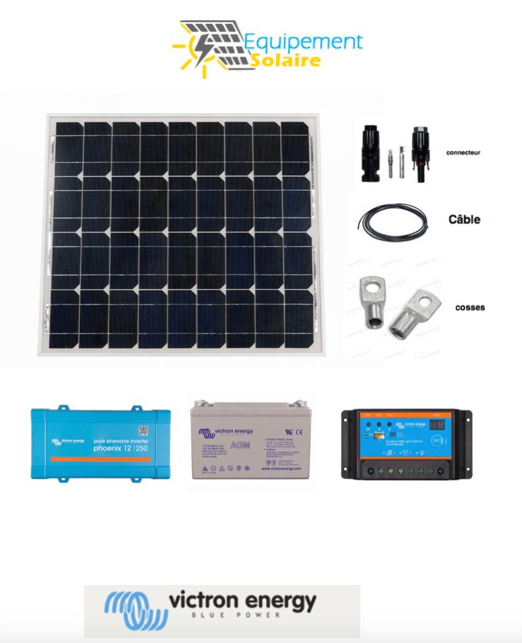 kit solaire 40W-12v