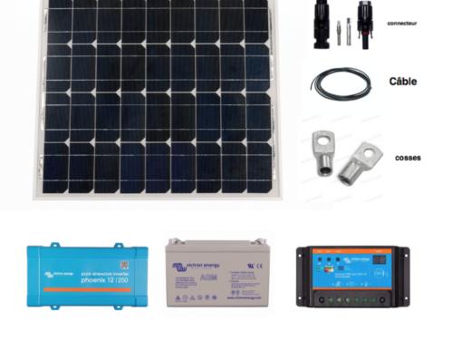 kit solaire autonome complet