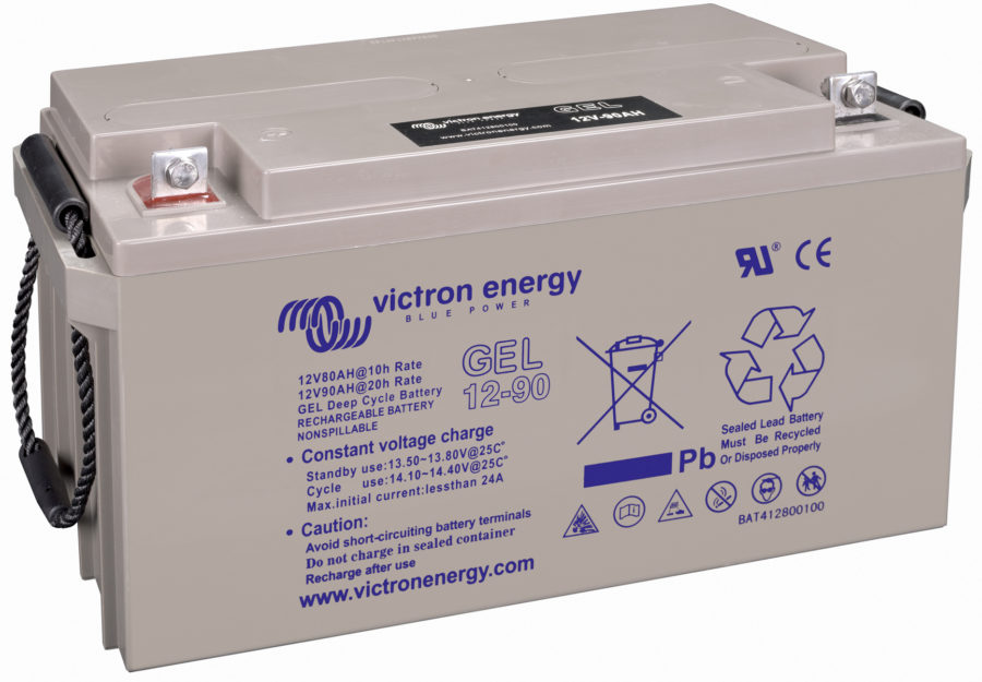 batterie solaire gel vrla 12v 90Ah victron energy