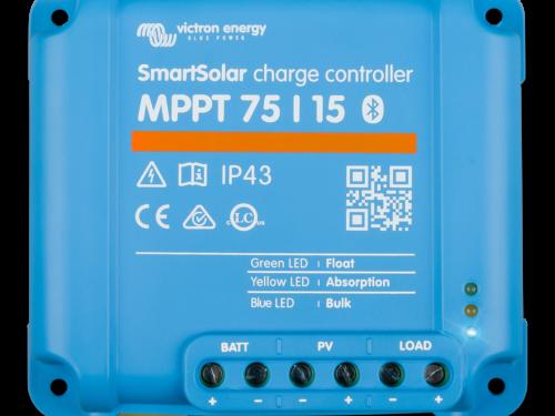 Régulateur de charge solaire SmartSolar 75/15A-victron-energy