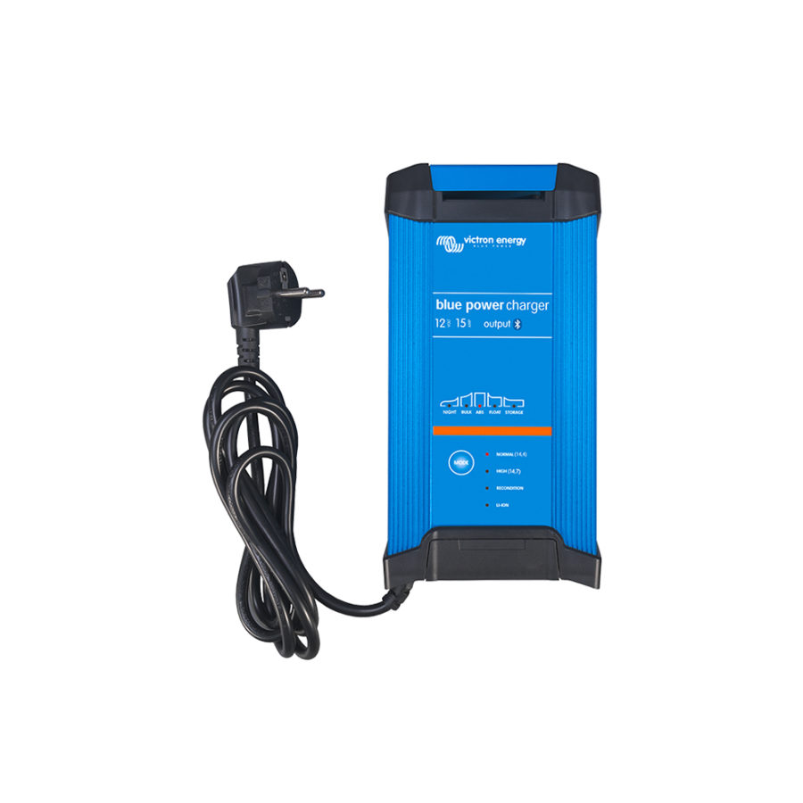 Chargeur de batterie solaire IP22-12V-15A-3-sorties Victron Energy.