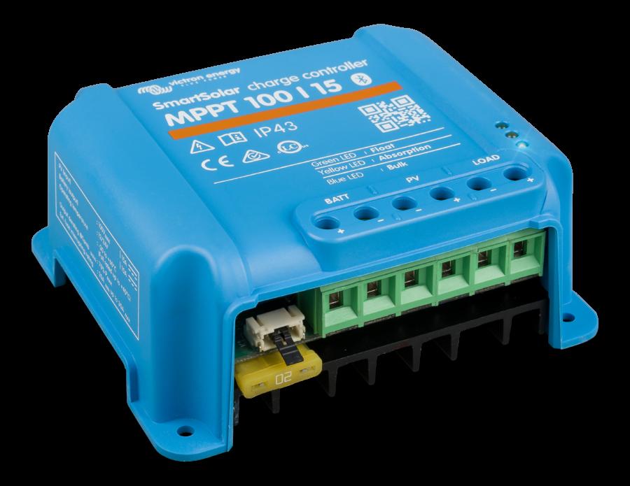 regulateur de charge solaire mppt 100-15A