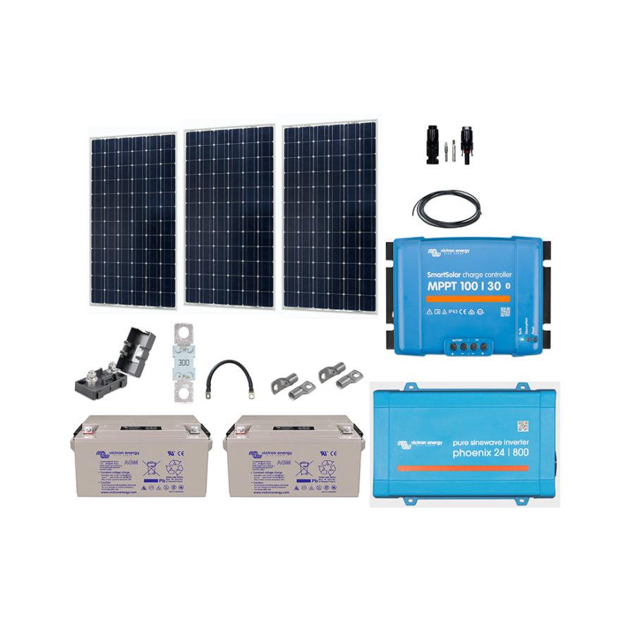 kit-solaire-autonome-24v-915w-complet-connecté-victron-energy