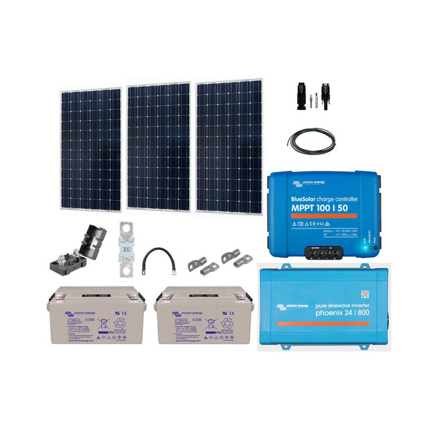 kit-solaire-complet 915w-24v-autonome