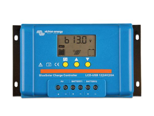 régulateur-solaire-pwm-lcd-usb-20a-12-24v-victron-energy.