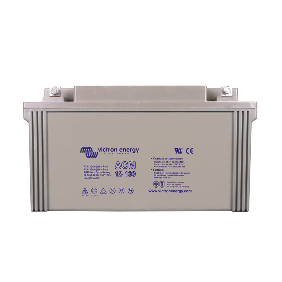 Batterie solaire AGM 130Ah-12V Étanche - Victron Energy