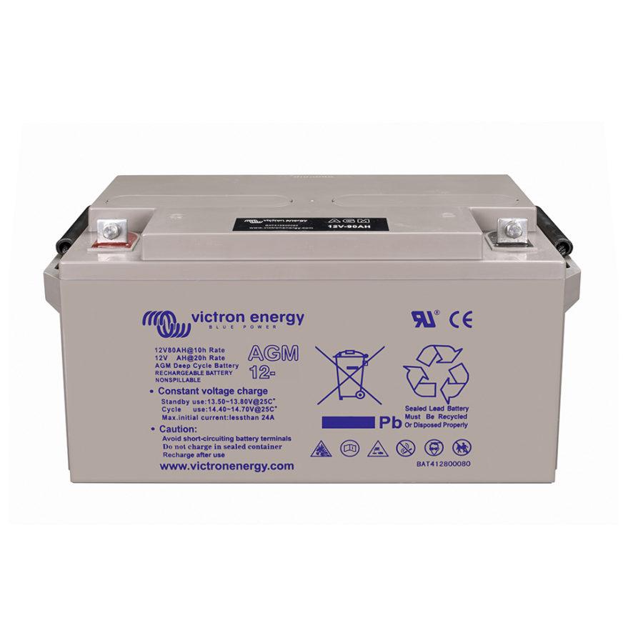 Batterie solaire AGM 66Ah-12V Étanche - Victron Energy